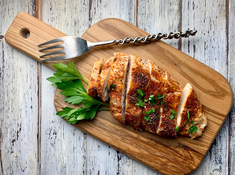 Perfectly Seasoned Oven Baked Chicken Breast