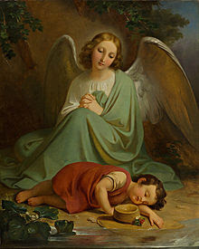 Znalezione obrazy dla zapytania aniol stroż