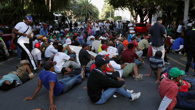 Trump firma un documento que prohíbe a los migrantes irregulares pedir asilo