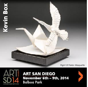 Kevin Box — Art San Diego Nov. 6-9, 2014