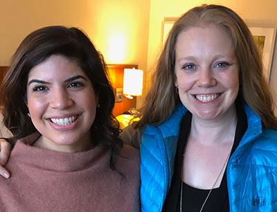 Ashley Sandvi and Beth Rabbitt
