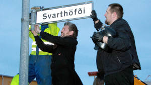 Iceland names street after Darth Vader - Idea proposed and voted online.