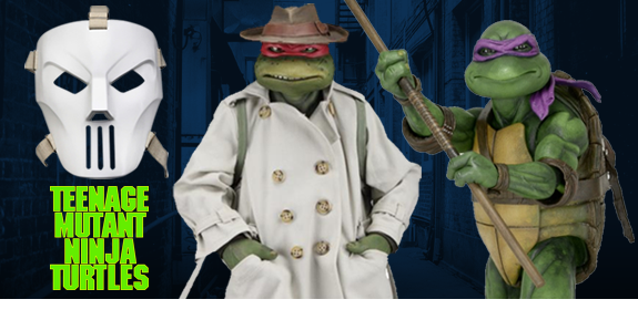 NECA TMNT COLLECTIBLE FIGURES & ACCESSORIES
