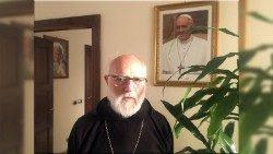 Mons. Celestino Aós, Administrador Apostólico et at nutus sanctae sedis de la Archidiócesis de Santiago de Chile