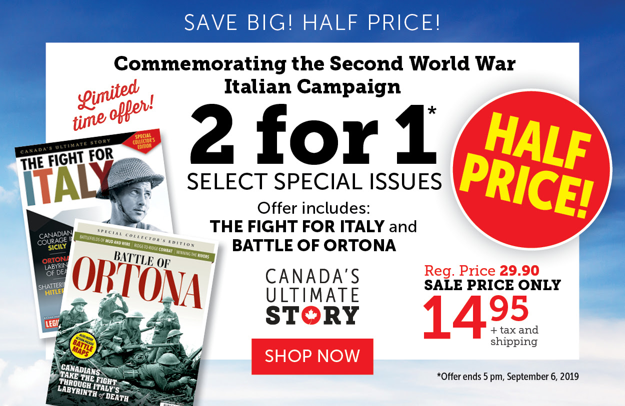 Italian Campaign 2 for 1 Special offer!