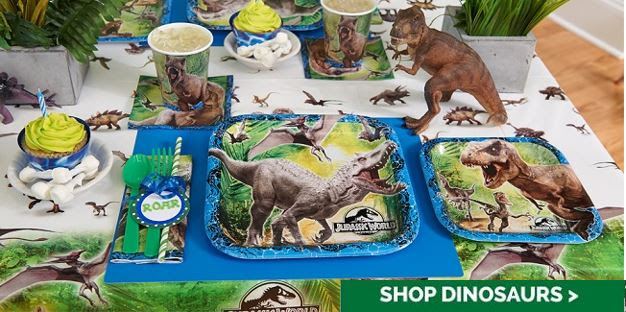 Jurassic World Birthday Party.