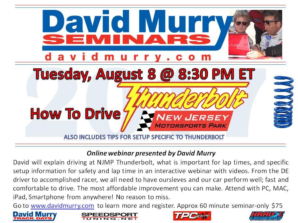 DMS Drive NJMP Thunderbolt flyers