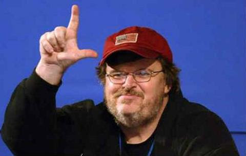 Crazed Leftist Michael Moore Goes Off the Deep-End About Ebola