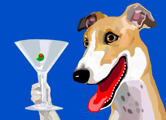 Image result for greyhound toasting