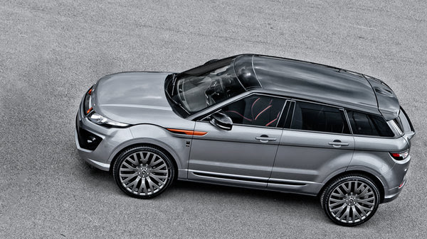 Land Rover Evoque RS250 Orkney Grey by Kahn Design