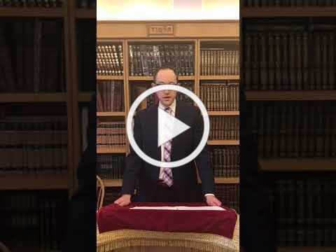 Erev Shabbat Message 3/20/2020