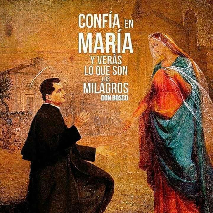 Resultado de imagen para DON BOSCO ANTE MARIA AUXILIADORA