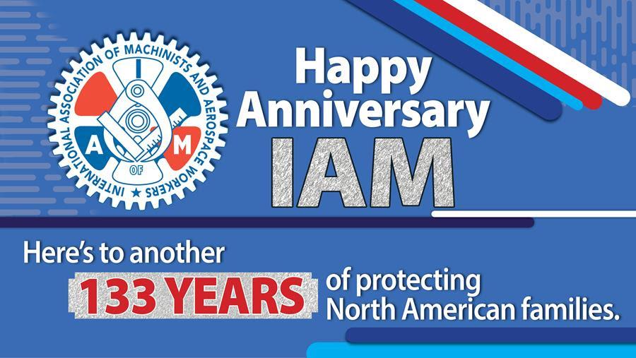 Happy Anniversary IAM