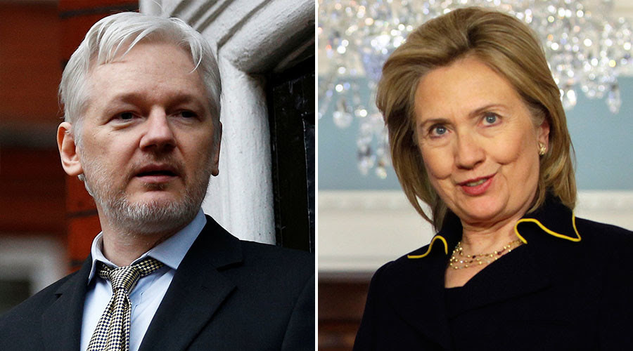 Bombshell: Clinton Crime Family Floated Story About Hillary Droning Assange as a Threat Not to Release Info Today!