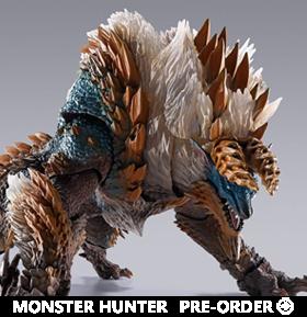 Monster Hunter World Iceborne S.H.MonsterArts Zinogre