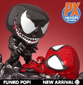 Pop! Marvel: Comic Moments - Venom Vs. Spider-Man PX Previews Exclusive
