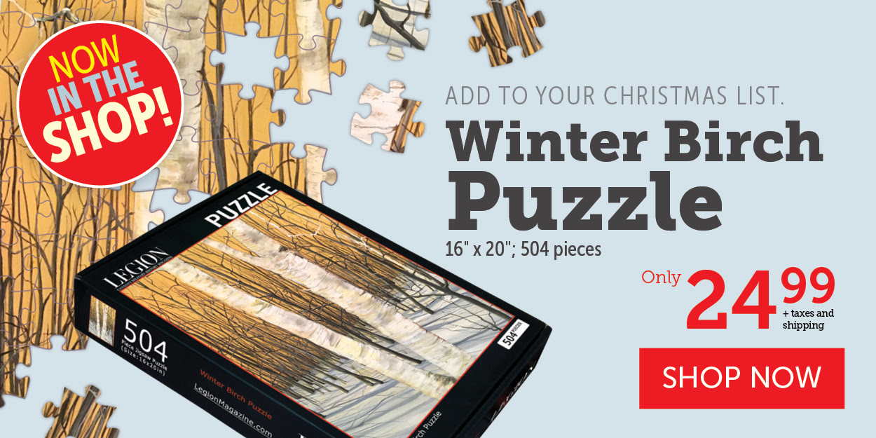 Winter Birch Puzzle!