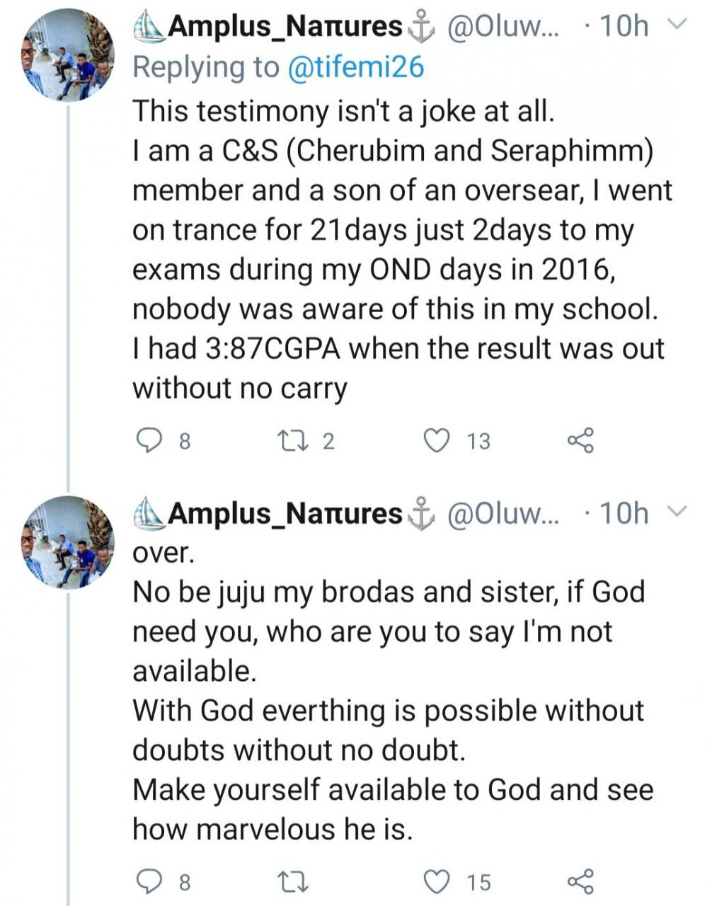 Celestial church members narrate how they