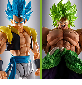 DRAGON BALL SUPER S.H.FIGUARTS GOGETA & BROLY