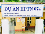 Treatment Site for the Integrated Treatment Trial (HPTN 074) in Thai Nguyen, Vietnam.
