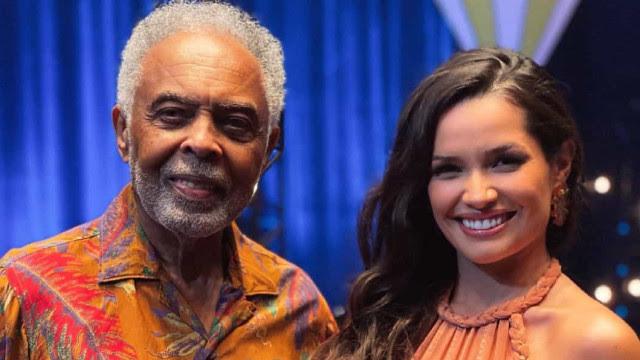 Gilberto Gil e Juliette cantam juntos e se emocionam em live junina