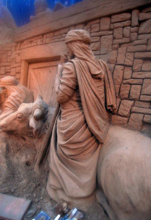Адски красивая песчаная скульптура Рэя Виллэфена Необычный