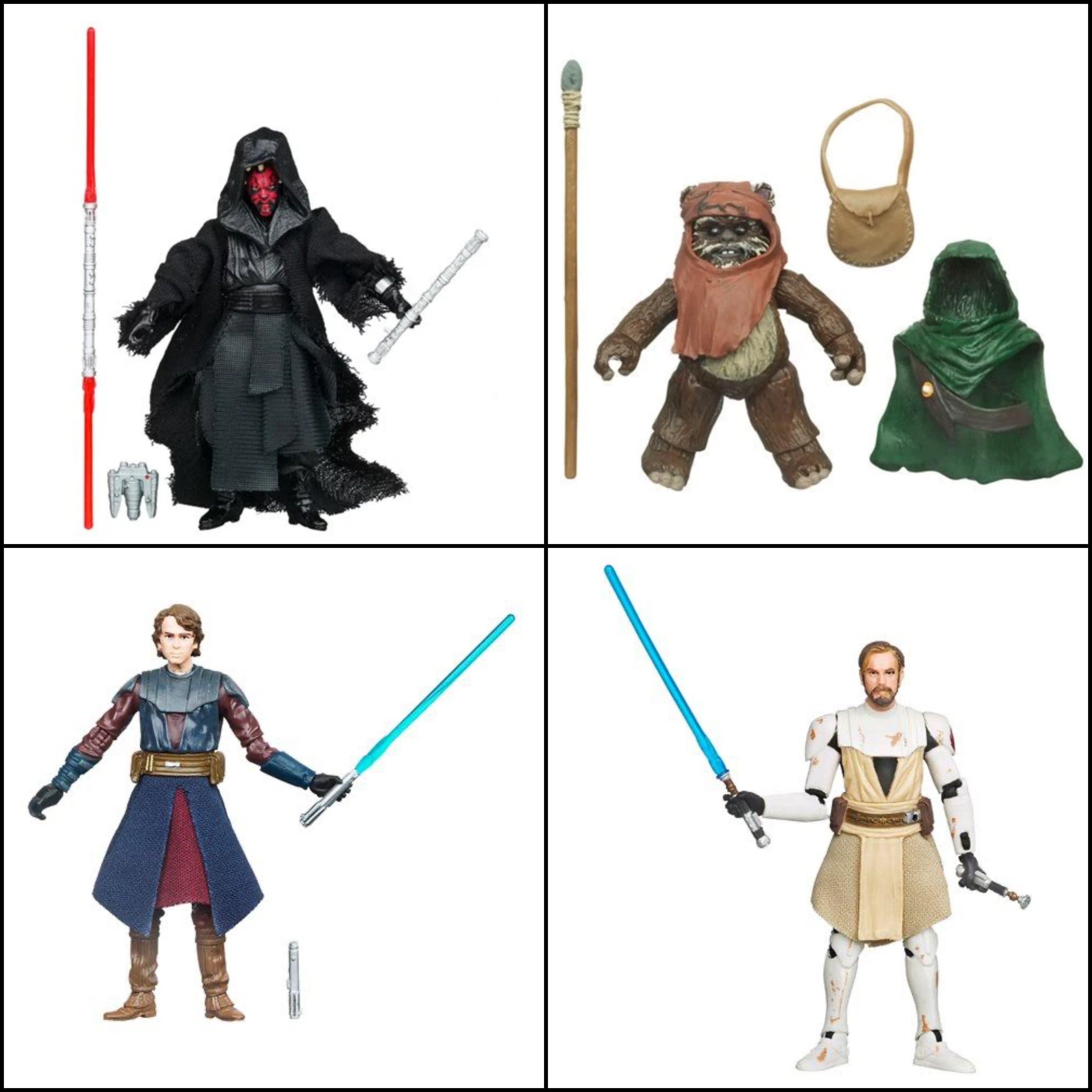 "Image of Star Wars The Vintage Collection Wave 3 (2020) - Set of 4 3.75"" - Inch Action Figures"