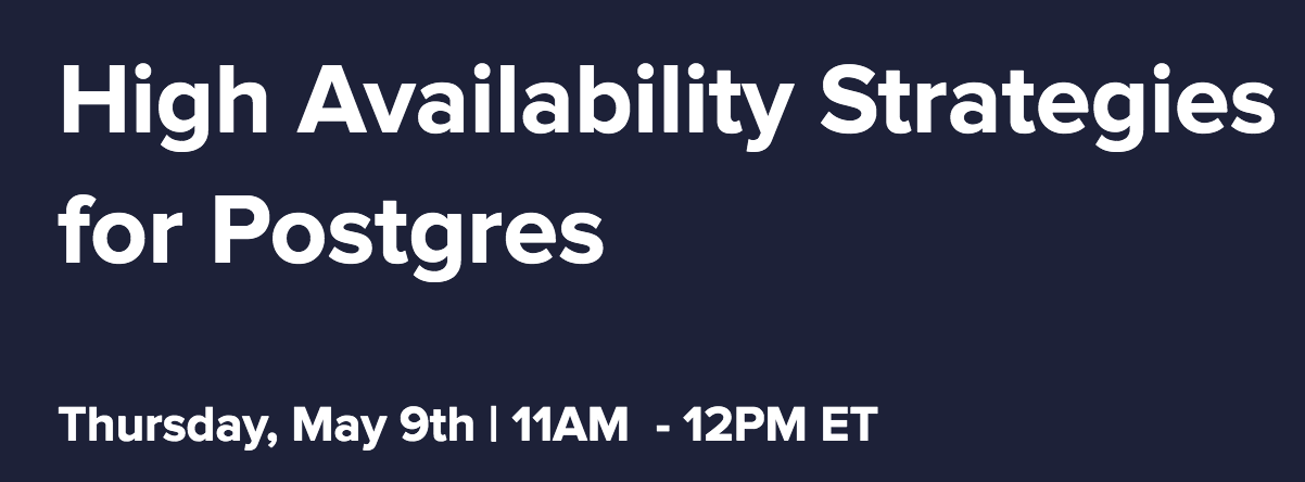 High-Availability-Strategies-for-Postgres