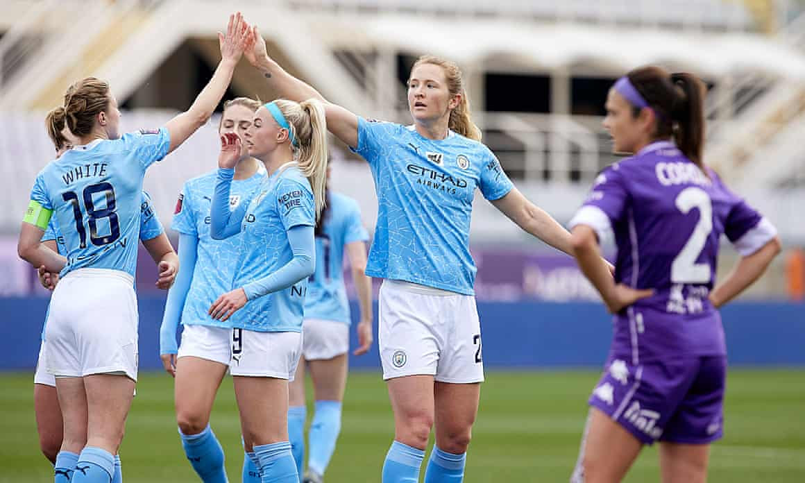 Manchester City Women march on.