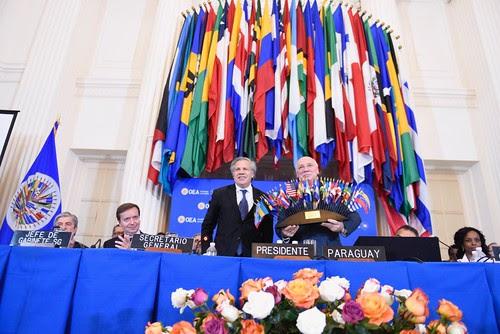 Concluyó la 48ª Asamblea General de la OEA