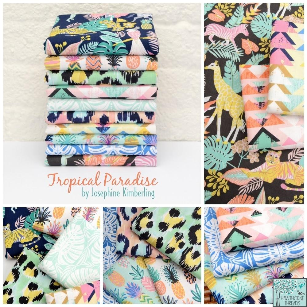 Josephine Kimberling Tropical Paradise Fabric