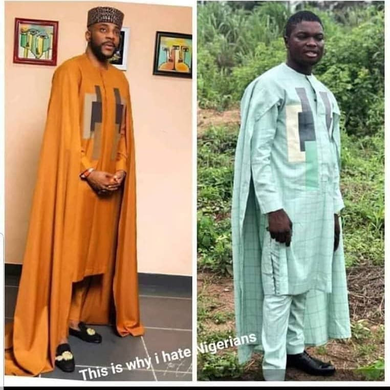 Nigerian man orders for Ebuka