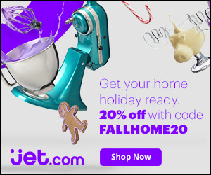 20% off Home Essentials at Jet...