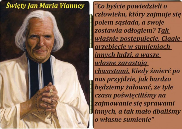 Znalezione obrazy dla zapytania NOWENNA DO ŚW. JANA MARII VIANNEY'