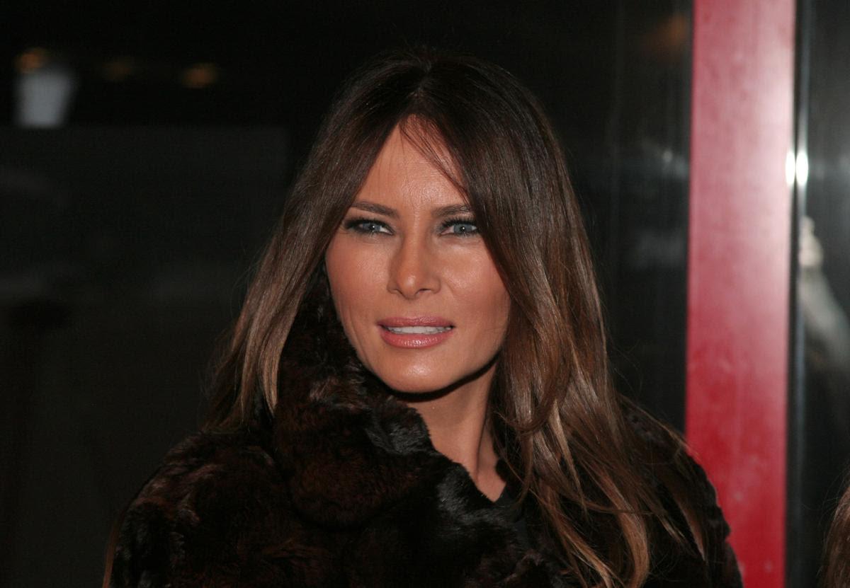 Melania Trump, February 2014