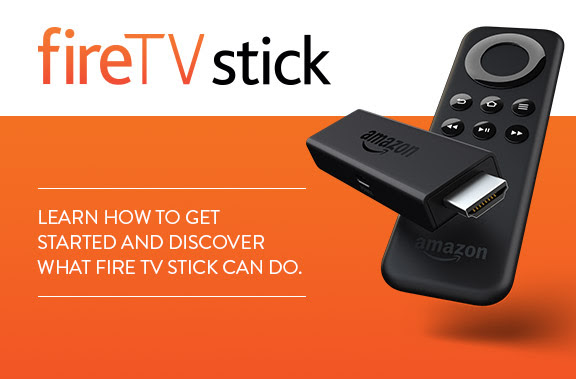 Welcome to Fire TV Stick. Learn how to get started and discover what Fire TV Stick can do.