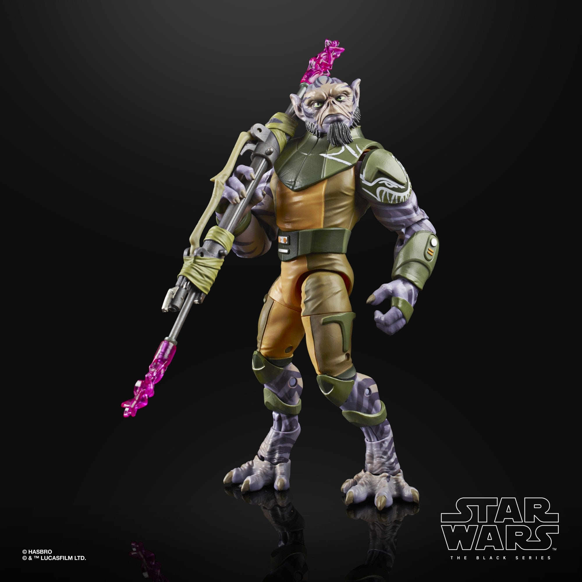 Image of Star Wars The Black Series Rebels Zeb Orrelios 6-Inch Action Figure