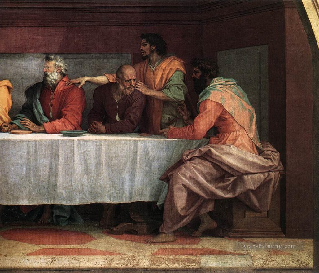 """لوحات """"العشاء الأخير"""".. فنانون جسدوا الليلة الأخيرة للمسيح غير دافنشى الأحد، 147270-%D9%84%D9%88%D8%AD%D8%A9-Giotto"""