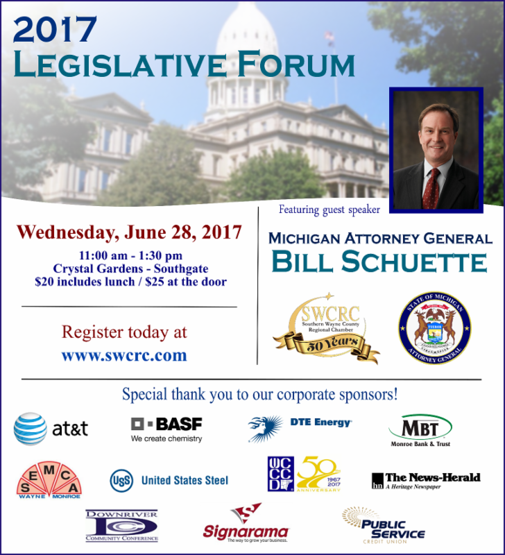 Legislative Forum @ Crystal Gardens | Southgate | Michigan | United States