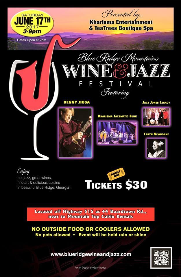 Blue Ridge Wine and Jazz Festival June 17