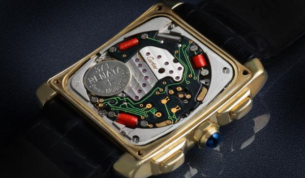 Cartier watch movement