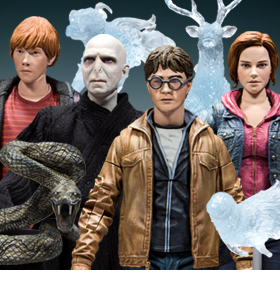 HARRY POTTER & THE DEATHLY HALLOWS FIGURES