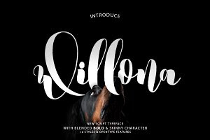 Willona Typeface