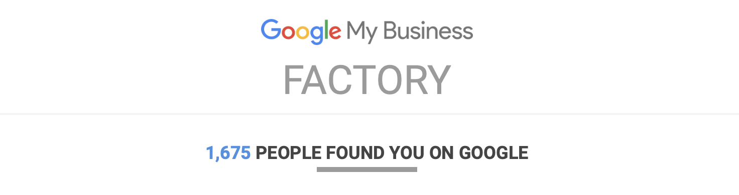 Google My Business photo Factory