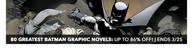 DC 80 Greatest Graphic Novels Sale: up to 86% off! | Ends 3/25