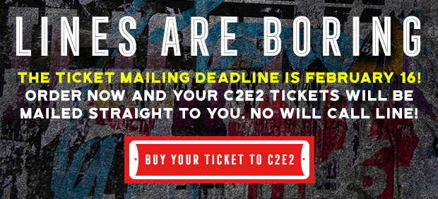 Lines are boring. The ticket mailing deadline is February 16!