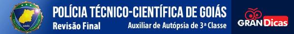 Polícia Técnico-Científica de Goiás - Revisão Final