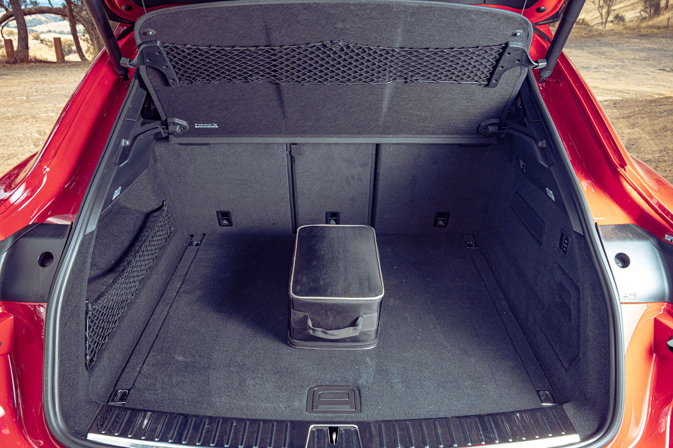 Motor Reviews Porsche Cayenne GTS Coupe Luggage Space