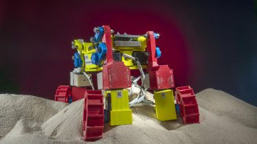 Mini Rover Operating in Beach Sand