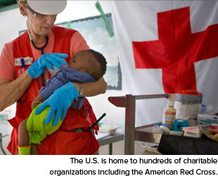 July 4th The US is home to hundreds of charitable organizations including the American Red Cross